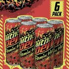 Mountain Dew Flamin Hot Limited Edition Mtn Dew 6 PACK Rare *SHIPS TODAY*