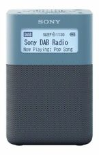 Sony Xdr-v20d Portable DAB Digital Radio With High Quality Stereo Sound - Blue