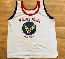 Vintage  Air Force Canal Zone Tank Top T-shirt