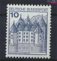 BRD 913II PF I, schräger Bruch im Dach unter CH postfrisch 1977 Burge (9229832
