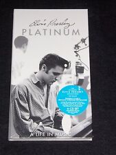 ♫ Platinum: A Life in Music by ELVIS PRESLEY (4 CD Box Set July 1997) SEALED NEW