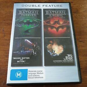 Batman Forever/ Batman and Robin DVD R4 Like New! FREE POST