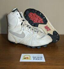 1983 Nike Sportswear Baseball Neutral Grey White Rubber Cleats size 6 VINTAGE