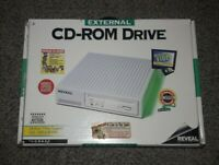Vintage Reveal CD620 External  CD-ROM DRIVE Reader - New! NOS DOUBLE SPEED SEAL
