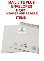 F3 White 220x330mm Mail Lite Plus Bubble Envelopes for Heavier Fragile Items