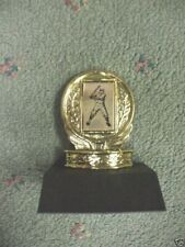 vintage baseball mini metal trophy award Free lettering personalized