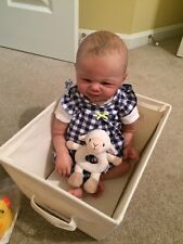 reborn baby girl/boy from Tommy sculpt by Sandy Faber