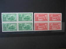 NEW ZEALAND 1936 CHAMBERS OF COMMERCE 1/2d&1d BLOCKS OF 4 NHM SG593/4