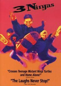 3 NINJAS NEW DVD