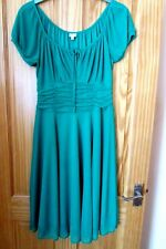 Lovely Green Party Dress Size 12 Debenhams Excellent Condition