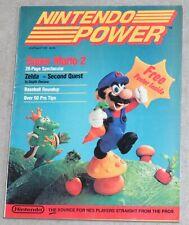 1988 Nintendo Power Magazine 1st Issue Vol. #1 NES Super Mario Bros 2 High Grade