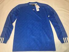 Adidas X Alexander Wang L/S Blue Jersey Shirt Sz Small AW SPRING '17 NWT!!