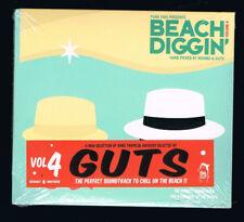 GUTS - BEACH DIGGIN' - VOLUME 4 - CD 14 TITRES - 2016 - NEUF NEW NEU