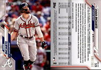 2020 Topps Series 2 ENDER INCIARTE Advanced Stat Parallel /300 Braves #529