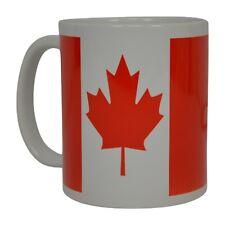 Best Funny Coffee Mug Tea Cup Gift Novelty Canada Canadian Maple Leaf Flag