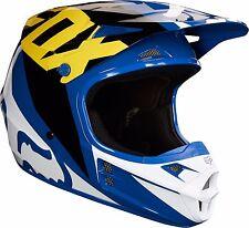 2018 Fox Racing V1 Race Helmet Motocross ATV Dirt Bike Adult 19531