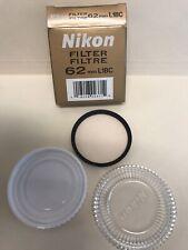 Nikon Filter - 62mm - L1Bc In Original Box