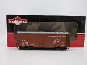 InterMountain 45719-17 HO M&StL1936 AAR 40' Boxcar #53602 LN/Box