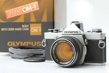 *Excellent+5* Olympus OM-1N Camera w/ G Zuiko Auto-S 50mm f/1.4 Lens from JAPAN