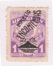 (UGA-189) 1946 Uruguay 1c Mauve Parcel post (A)