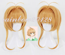 Card Captor Sakura CLEAR CARD Kinomoto Sakura Anime Cosplay Wig