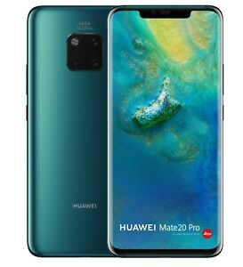 Huawei Mate 20 Pro En Verde Móvil Muestra Attrappe - Requisit Deco Exposición