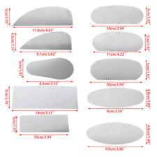 10Pcs Pottery Clay Steel Scraper For Polymer Steel Cutter Ceramic SerratedUth4