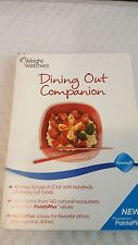 Weight Watchers Dining Out Companion Paperback – 2010