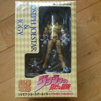 Joseph Joestar & Iggy Figure Super Action Statue JoJo's Bizarre Adventure Part.3