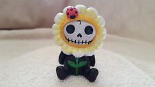 Furrybones Daisy the Flower Figurine Skull in Costume Collect New Free Shipping