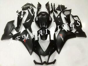 Matte Black ABS Injection Mold Bodywork Fairing Kit for Aprilia RS4 125 12-14