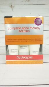 Neutrogena Complete Acne Therapy Solution - 2 Month Supply - Exp 2021