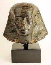 "VINTAGE EGYPTIAN STATUE ""BUST OF AN OFFICIAL"" - Sculpture Art Pharaoh Egypt"