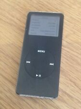 Apple iPod Nano 1st Generation A1137 1GB MP3 Player Black Available Worldwide