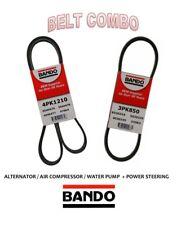 Scion xA xB  2004-2006 BANDO OEM 2 Pcs Belts Kit Pwr S / AC -  4PK1210 - 3PK850