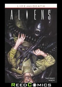 ALIENS LIFE AND DEATH GRAPHIC NOVEL Paperback Collects 4 Part Series