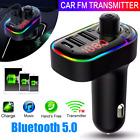 Coche Bluetooth Mp3 Inalambrico Autos kits para Adaptador de Radio Transmisor FM