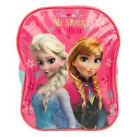 Disney Mochila Frozen Oficial Elsa Para Escuela Guardería Tiempo Libre 1139