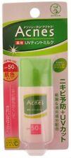Mentholatum Acnes Medicated UV Tint Milk SPF50 PA++ Rohto Japan 30g