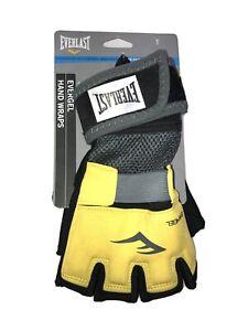 Everlast Level III Evergel Hand Wraps (Size XL/ Yellow & Black)