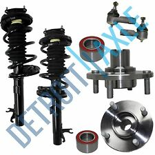 Front Strut Wheel Hub Tierod Kit for 2000 2001 2002 2003 2004 2005 Ford Focus