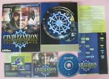 PC CD ROM CIVILIZATION CALL TO POWER 1999 ACTIVISION windows 95/98/NT no dvd