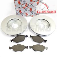 Front Brake Discs & Pads for FORD FOCUS Mk 1 - all models excl ST & RS - 1998-05