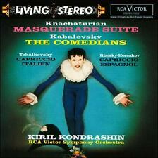 Khachaturian: Masquerade Suite; Kabalevsky: The Comedians; Tchaikovsky: Capricci