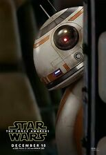 STAR WARS EPISODE VII THE FORCE AWAKENS CHARACTER MOVIE POSTER BB-8