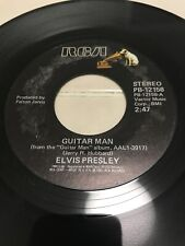 Elvis Presley 45 Guitar Man
