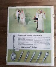 1957 International sterling silver Rhythm melody Spring Glory Joan Arc ad