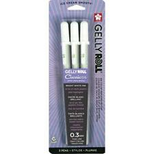 Sakura Gelly Roll Pen - Fine Point Gel Ink Pen - 3 PC Set - White 57452