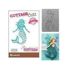 Mermaid Metal Die Cut - Cottage Cutz Cutting Dies CCE-279