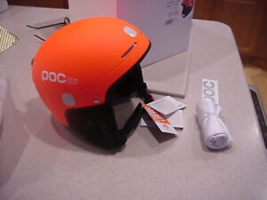 POC ito LIGHT  Bike helmet . FLUORESCENT ORANGE  M-L  55-58. extra small to smal